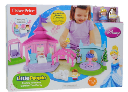 Fisher Price Little People Disney Princess Garden Tea Party Just $33 Down From $63!