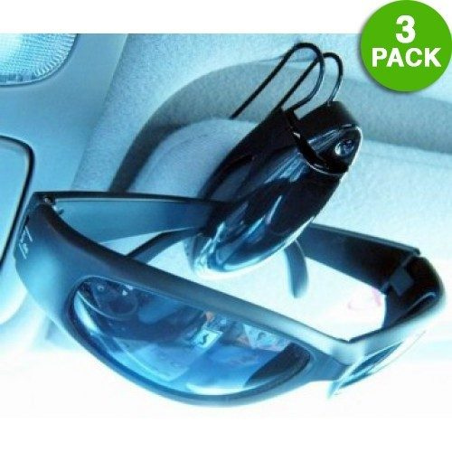 3 Pack: Visor Clip Sunglasses Holder In Assorted Colors Only $3.99 + FREE Shipping!