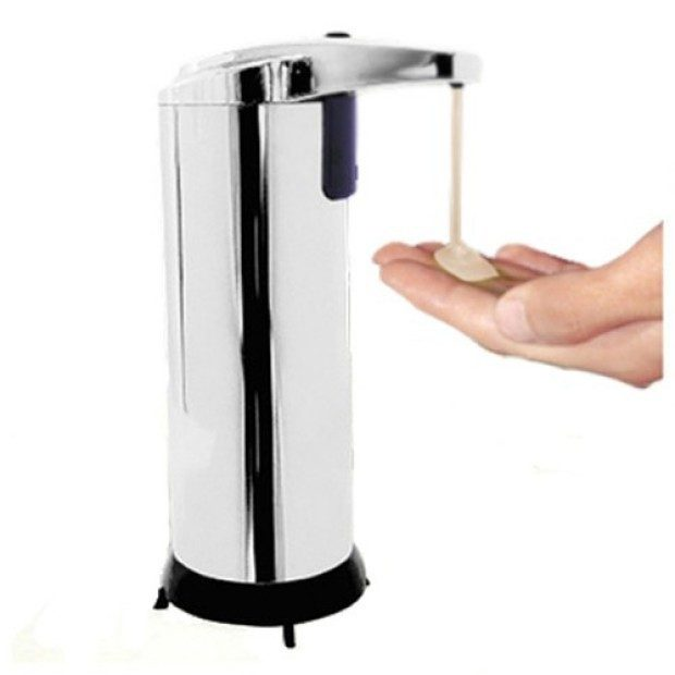 Touchless Motion Activated Soap Dispenser in Stainless Steel Just $11.99 Plus FREE Shipping!