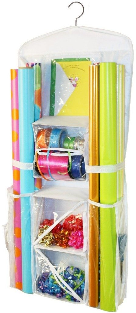 Hanging Gift Wrap Organizer Only $18.99! (Reg. $25)