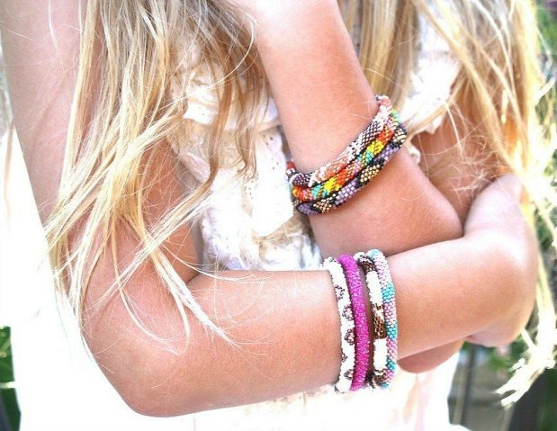 Nepal Glass Beaded Bracelets Just $3.99! (Reg. $13)