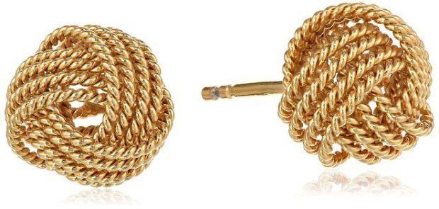 Twisted Love Knot Stud Earrings Just $14.99! (Reg. $31)