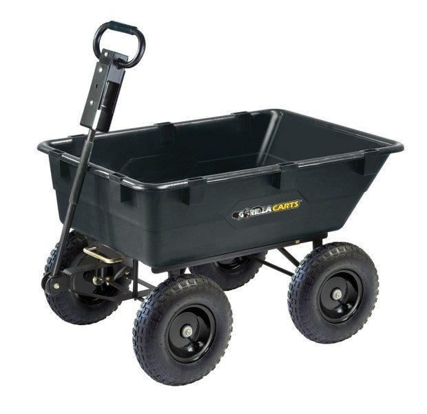 Gorilla Carts Heavy-Duty Garden Dump Cart Just $99! (reg. $160)