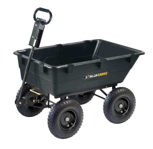 Gorilla Carts Heavy-Duty Garden Dump Cart Just $99! (reg. $160)