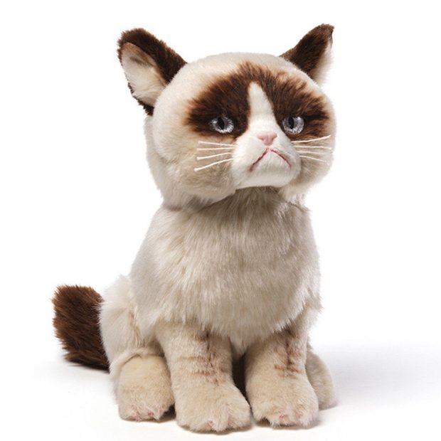 Gund Grumpy Cat Plush Stuffed Animal Toy Was $21.99 Now Just $14.73!