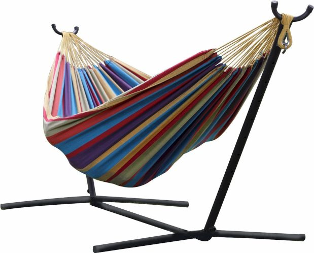 Double Hammock With Stand Only $129.97 Shipped!