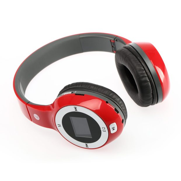 Wireless Folding Stereo Headphone Radio/MP3 Player Only $17.31! Ships FREE!