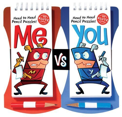 Me Vs You: Head-to-Head Pencil Games Challenge only $9.41!