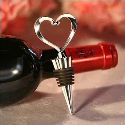 heart shaped bottle stopper