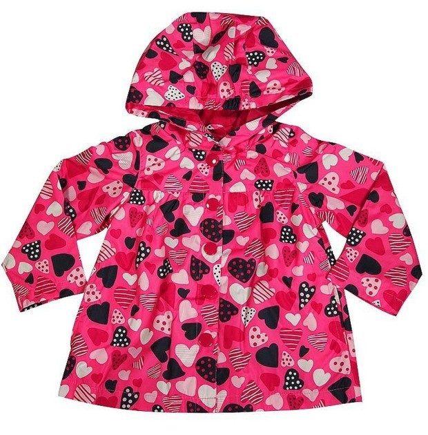 Osh Kosh B'gosh - Little Girls Hooded Rain Jacket Just $9.90! (Reg. $48!)