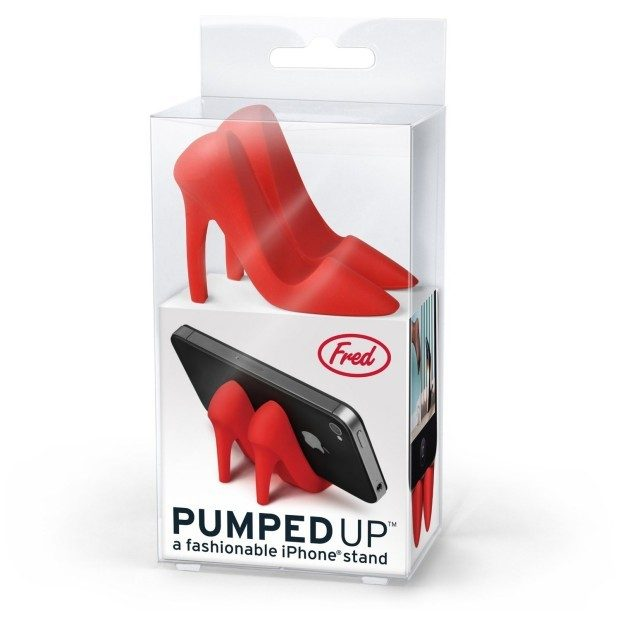 High Heel Phone Stand, Red Only $3.22!  Ships FREE!
