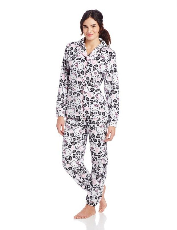Labor Day Sale - Hello Kitty Junior's Pajama Set Only $12.48!