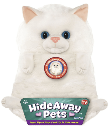 """Jay At Play 15"""" Hideaway Pets (Persian Kitten) Just $7.63 Down From $20!"""