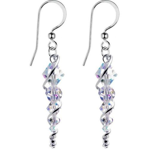 Handcrafted Austrian Crystal Icicle Drop Earrings Just $12.99 Ships FREE!