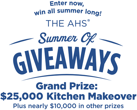 Enter To Win A Kitchen Makeover PLUS Other Prizes!