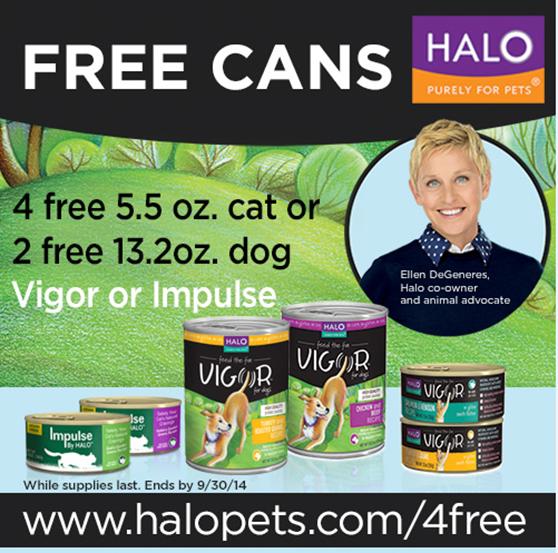 FREE Halo Pet Food!