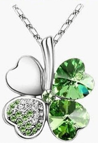 Four Leaf Clover Necklace In 10 Different Colors Just $2.29 PLUS FREE Shipping!