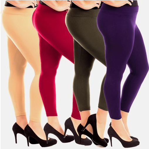 Fleece Lined Leggings 2-Pack Just $9.99 PLUS FREE Shipping!