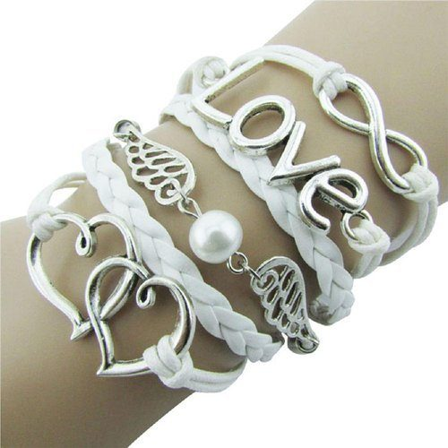Leather Infinity Wrap Bracelet Only $3.25 + FREE Shipping!