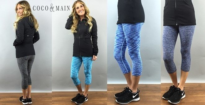 Designer Inspired Athletic Capri Only $16.99!