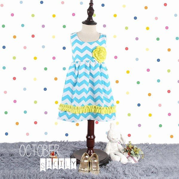 Girls Colorful Easter Dress Only $12.49 Shipped!