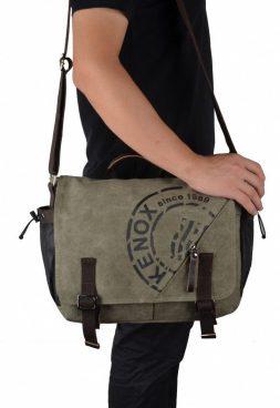 Canvas Crossbody Messenger Bag Just  $23.99!