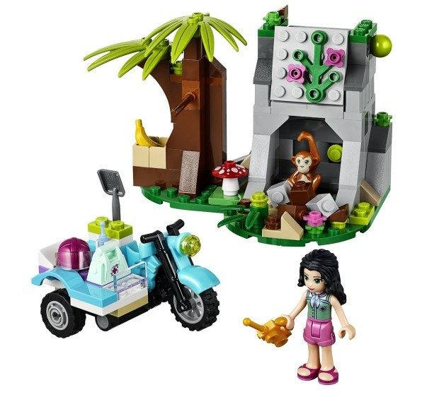 LEGO Friends First Aid Jungle Bike Building Set Only $11.05! (Reg. $15)