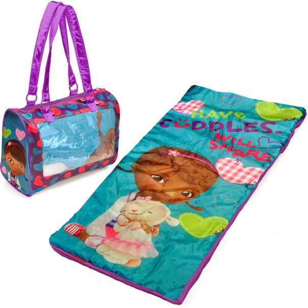 Disney Doc McStuffins Mini Sleepover Set/Nap Mat with BONUS Sling Bag Just $13.98! Down From $29.99!
