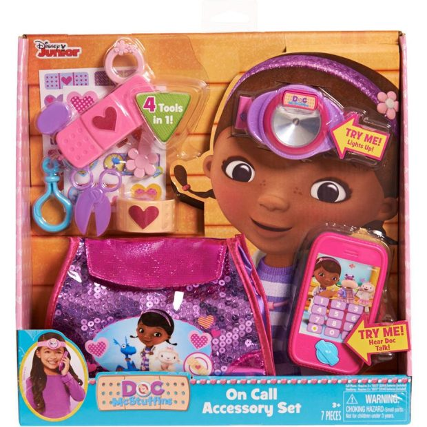 Disney Doc McStuffins On Call Accessory Set Just $9.97 Down From $16.97 At Walmart!
