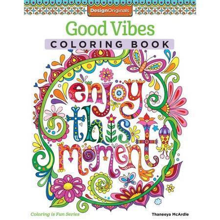 Good Vibes Coloring Book Just $5.99 At Walmart!