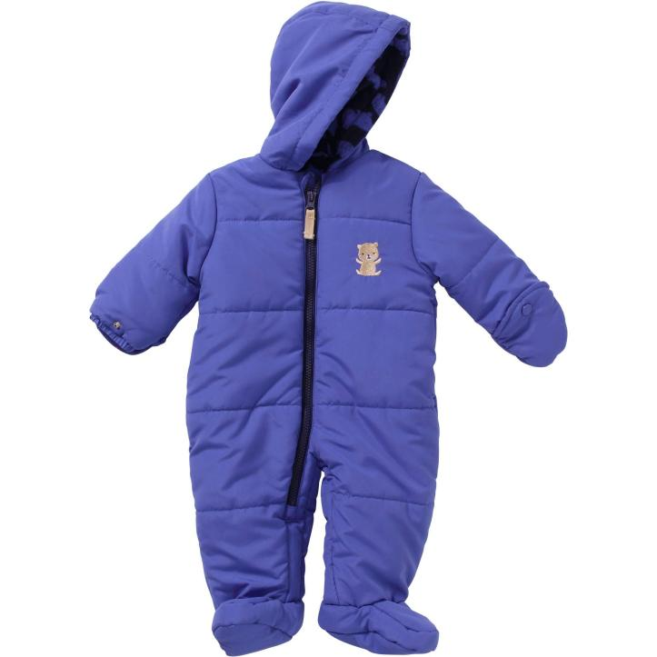 Child of Mine by Carters Newborn Baby Boy Hooded Puffer Pram Just $6.00 Down From $19.97 At Walmart!