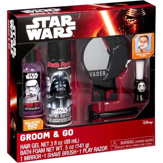 Disney Star Wars Galactic Grape Scented Groom & Go Gift Set Only $4.94 Down From $9.88 At Walmart!