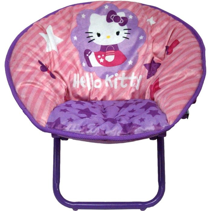 Hello Kitty Saucer Chair Just $15.98! Down From $29.98!