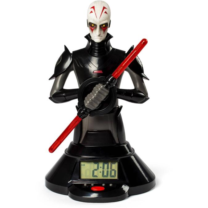 Star Wars, The Inquisitor Lightsaber Clock Just $24.80 Down From $49.97 At Walmart!