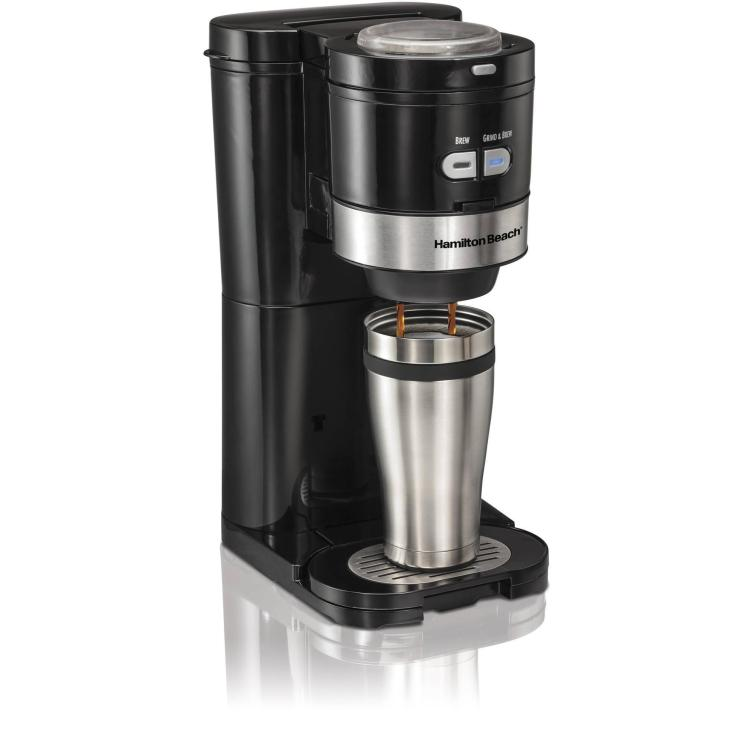 Hamilton Beach Single Serve Grind and Brew Coffee Maker Just $29.88 Down From $82.29 At Walmart!