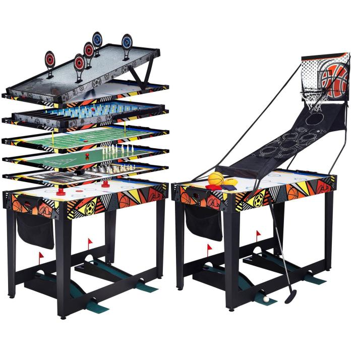 "48"" 12-in-1 Combo Game Table Just $69.00 Down From $149.99 At Walmart!"