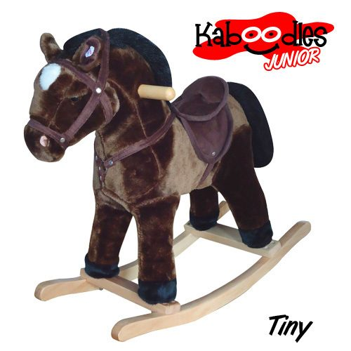 Vandue Kaboodles Junior Plush Rocking Horse w/Sound Just $41.25 Down From $129.99 At Sears!