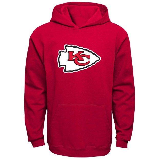 NFL Boys 8-20 Primary Logo Fleece Hoodie Starting At $11! (Reg. $45)