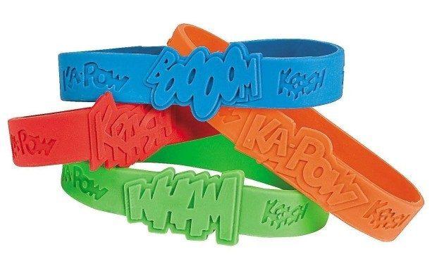 Fun Express 24 Piece Superhero Sayings Bracelets Only $6.25!