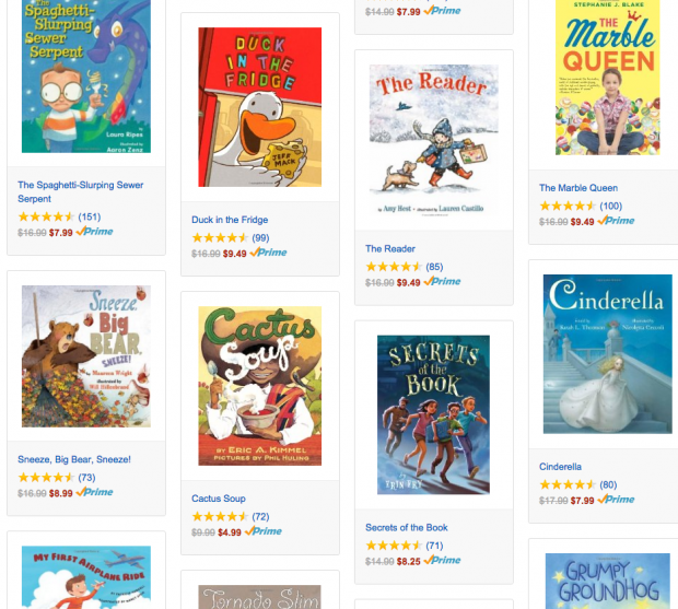 Up to 50% Off Select Children's Books!  Books Start At $3.49!