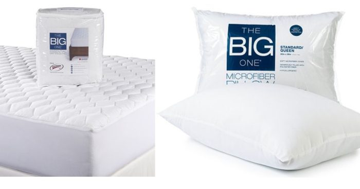 The Big One Mattress Pad &  Microfiber Pillow Only $13.58! Down From $52!