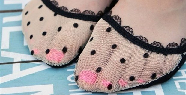 Lace Socks For Flats - 11 Styles Only $1.99!