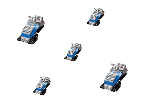 FREE LEGO Snowmobile Build 2/2 & 2/3!