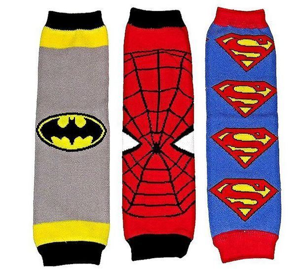 Superhero Baby Leg Warmers 3 Pk Only $7.06 Shipped!