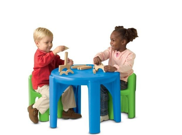 Little Tikes Bright 'n Bold Table & Chairs, Green/Blue Just $39.92 PLUS FREE Shipping!  Down From $52!