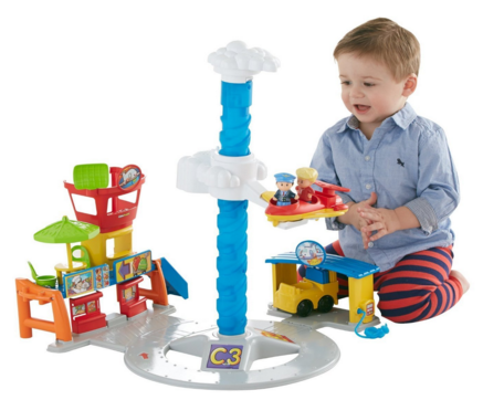 Fisher-Price Little People Spinnin' Sounds Airport Just $25 Down From $40!
