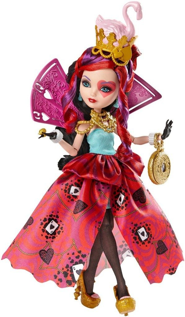 Ever After High Way Too Wonderland Lizzie Hearts Doll Just $10.49! (Reg. $25)