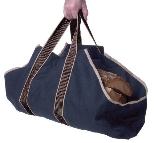 Black Log Tote Only $11.91! (Reg. $18)