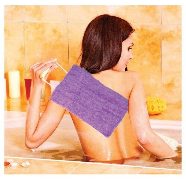 Exfoliating Shower Loofahs 2 Pk Just $14 Shipped!