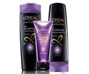 FREE L'Oreal Shampoo, Conditioner & Treatment Sample Pack!